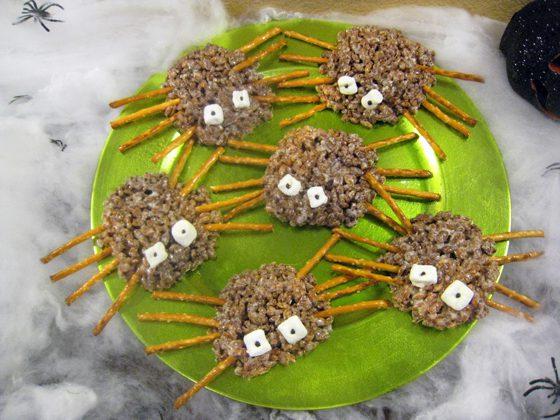 spider crispy treats