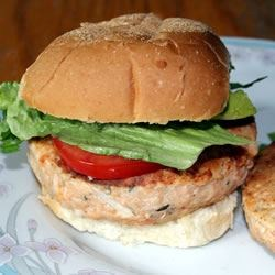 Salmon burgers pic
